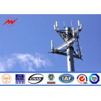 132kv 30 Meter Mono Pole Tower For Mobile Transmission Telecommunication Manufactures