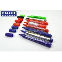 Purple / Blue Silver Nitrate Waterproof Ink Pen Indelible For Printing Manufactures