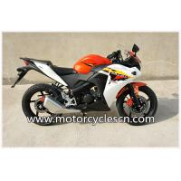 Red White Air-cooled Honda CBR150 Two Wheel Drag Racing Motorcycles For Men Manufactures