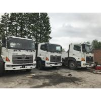 6X4 Hino 500 700 Tractor Truck , Japan Used Truck Head Trailer For Sale With Good Condition Manufactures