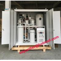 Lubricant Oil filtration Plant, Vacuum Oil Dehydration System,Lube Oil Purifier Machine PLC Weather-proof enclosed type Manufactures