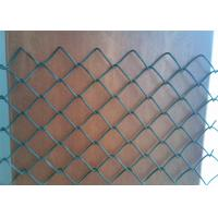 China HDG chain link fence Hot-sell chain link diamond wire mesh fence on sale