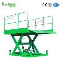 China Customized Cargo Lift Table 5 Tons Stationary Scissor Lift Platform For Warehouse on sale
