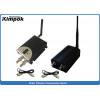 10km LOS UAV Analogue Wireless Video Transmitter 2000mW Video Sender 8 Channels Manufactures