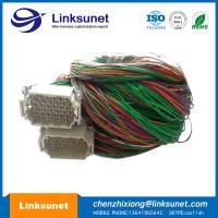 Harting Han Industrial Wire Harness 09160723001 Four Point 72 PIN Connector Manufactures