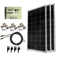 100 watt solar panel kit Solar Power Backup Generator For emergency electricity Manufactures