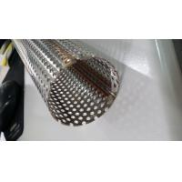 409 Steel Welded Steel Pipe with Perforated Holes Manufactures
