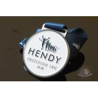 China Run Run Or 10K Marathon Custom Award Medals HENDY Sports Logo Filling Soft Enamel on sale