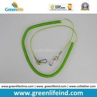 China Light Green Retractable Fishing Tool Tether Lanyard for Fishing Rod on sale