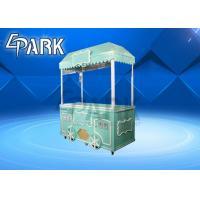 China Big Size Crane Game Machine , Milk Tea Baby Crane Gift Doll Claw Arcade Machine for sale