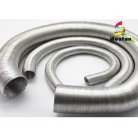 Aluminum Foil Auto Air Duct Hose Lightweight Paper Craft Protective Round Bellows Manufactures