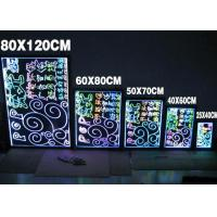 SMD Scrolling Electronic LED Message Writing Board RGB Color For Retail Store Hotel Manufactures