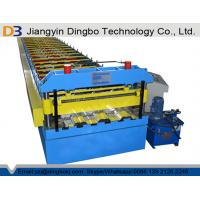 2 Years Warranty Floor Deck Roll Forming Machine For Building Material Manufactures