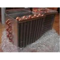Low Temperature Systems Copper Aluminium Fin Tube Heat Exchanger Refrigeration Parts Manufactures