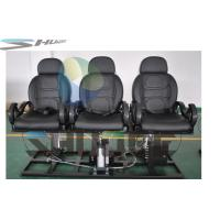 Strong simulation and electric shock Motion Theater Chair  with pneumatic system supplier Manufactures