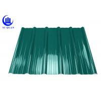 Pvc Resin Plastic Roof Tiles Anti - Corrosive Multiayer Surface Manufactures