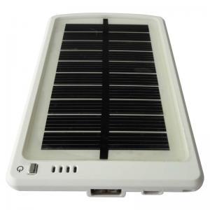 China 3000mAh (5V, 15Wh ) USB Solar Power Bank External Mobile Battery Backup Charger on sale