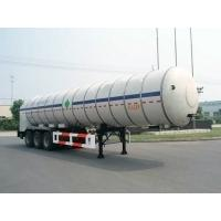 27000L-3 Axles-Cryogenic Liquid Lorry Tanker for Liquid Carbon Dioxide Manufactures