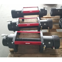 Off road recovery winch 12000lbs 12V 24V 4x4 electric winch with synthetic rope Manufactures