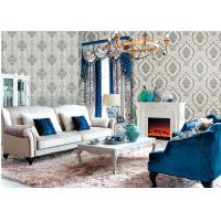 Fashion 1.06 Meter Wallpaper For Feature Wall Living Room , Eco Friendly Manufactures