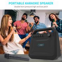 Buy cheap Outdoor Portable Wireless Bluetooth Speakers Karaoke Horn K10A 8000mah Battery from wholesalers