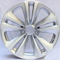 Hyper Silver Customized Alloy Rims For BMW 730 Li / 18 Forged Alloy Rims 5x120 Manufactures