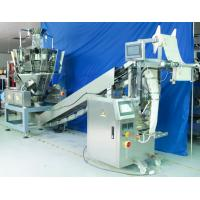 Automatic Vertical Form Fill Seal Machine For Puffed Food / Snack Food Manufactures