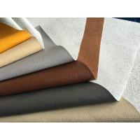 Full Grain Cow Upholstery Genuine Leather Fabric Anti - Mildew For Furniture Manufactures