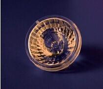 China Special Light 38°BA LED Optic Lens Aspheric Shape Use On Spot Light on sale