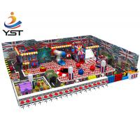 China Non Toxic Indoor Soft Play Equipment , Indoor Play Structures For Toddlers on sale