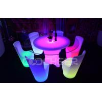 Durable IP 54 16 RGB Led Bar Chair Club Furniture Easy To Clean Manufactures