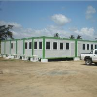 China Light Type Prefabricated Engineered Building Metal Frame Buildings High Strength on sale