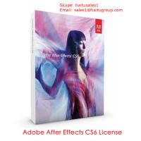 China Adobe After Effects CS6 Serial key, Adobe Cs6 Product Key on sale