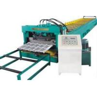 China 50Hz corrugated sheet roll form machine, Tile Forming Machine for Wall & Roof Panel on sale