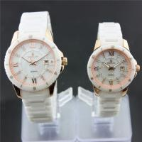 5ATM waterproof couple wrist watches customized / Swarovski Manufactures