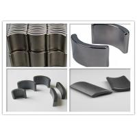 Y35 Car Horn Ferrite Segment Magnets Arc High Strength SGS Certification Manufactures