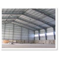 Typical Steel Structure Warehouse By Painting With Single Claddy System Manufactures
