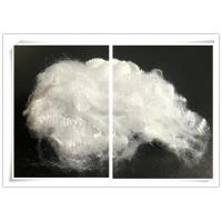Raw White Regenerated Polyester Staple Fiber For Spinning Non Woven Filling Manufactures