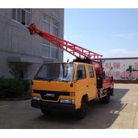 Quality GC-150 Hydraulic Chuck Truck Mounted Drilling Rig large input power and output for sale