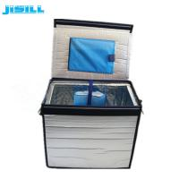 New Design Portable Collapsible Cooler Box with VIP thermal material Manufactures
