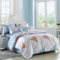 Buy cheap Cuztomized Color Silk Luxury Home Bedding Sets , Queen Size / Full Size Bed Sets from wholesalers