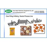 automatic food extruder jam core filling snack machine Manufactures