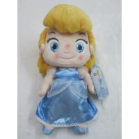 Custom Children Disney Plush Toys Princess Cinderella Doll 12 inch Manufactures