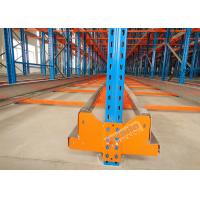 High Density Storage Racks Radio Shuttle Racking Adjustable Baseplate Type 50 Meters Per Min Manufactures