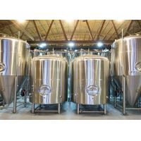 China 7BBL Bright Beer Tank SS304 Fabricated With 2mm Thickness Dimple Plate Jacket on sale