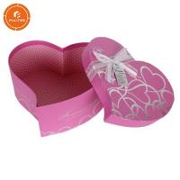 China Decorative gift box with ribbon heart shaped pretty chocolate case on sale
