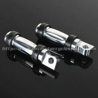 Aluminum Motorcycle Foot Pegs Front  Rear Position Without Clamps Manufactures