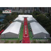 Heat Resistant TFS Tents 40 x 90 M With Fire Retardant White PVC Fabric For Events Manufactures