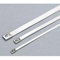 Coated Stainless Steel Releasable Ss Zip Ties Customizable Industrial Strength Manufactures
