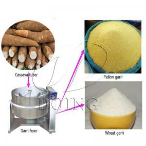 Buy cheap China hot sell cassava garri processing machine / garri fryer from wholesalers